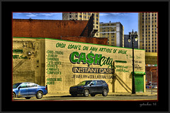 Cash City (the Gallopping Geezer 3.5 million + views....) Tags: building sign mi canon advertising mural downtown michigan ad detroit sigma structure signage geezer advertise 24105 2016 5d3