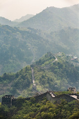 Chinese Great Wall II (phreekz.chmee) Tags: china panorama nature wall outdoor 5d greatwall 80200