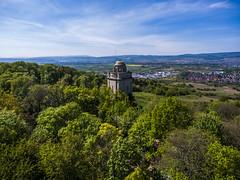 Bismarckturm (ChrisTalentfrei) Tags: sky landscape landscaping 4 phantom landschaft rhein westerberg rheinhessen drone ingelheim bismarckturm dji drohne