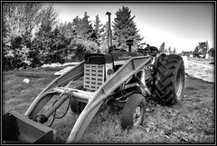 A554 (kmacnz) Tags: blackandwhite bw tractor international springfield mccormick exposurefusion