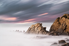 Sea Rage (Ekaitz Arbigano) Tags: sea seascape beach water clouds landscape lights luces mar spain rocks long exposure waves country shoreline silk playa paisaje rage highlights shore nubes olas basque seda euskadi temporal rocas ekaitz azkorri arbigano ekarbig