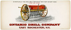 Ontario Drill Company, East Rochester, New York (Alan Mays) Tags: old red ny newyork yellow vintage ads paper advertising typography md antique farming grain illustrations maryland graindrills baltimore ephemera seeds equipment type machines agriculture advertisements fonts printed planting discs hoes printers companies typefaces manufacturers drills eastrochester gamse lithographers blotters inkblotters seeddrills plantingequipment advertisingblotters ontariodrillcompany ontariodrill ontariodrillco ontariodrills hgamse hgamsebro gamselithographingcompany