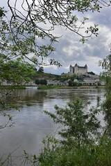 Saumur, son chteau (Charlottess) Tags: eau mai chateau loire fleuve rivage maineetloire nikon5300