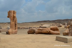 Two statues of Ramses II (konde) Tags: delta archaeological ramsesii ancientegypt tanis newkingdom 19thdynasty