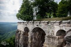 Königstein Fortress I (judithrouge) Tags: castle stone wall germany deutschland arch arc bow fortress stein burg mauer bogen craftmanship festung königstein