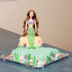 Mermaid Cake (AW Inspired Cakes) Tags: shells seaweed scale cake hair long pretty mermaid lollies