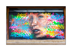 Graffiti (Olivier Roubieu), South London, England. (Joseph O'Malley64) Tags: uk greatbritain england streetart london graffiti mural paint britain pavement spray british panels cans aerosol southlondon muralist limestonesteps mrshiz olivierroubieu