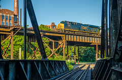CSX at Richmond, VA (i nikon) Tags: park river james canal richmond viaduct va drawbridge csx kanawha shiplock