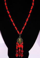 Mostacilla Roja II (Gabriela Andrea Silva Hormazabal) Tags: colar collares necklace necklaces red rojo bijouteri jewel jewelry accesorios moda fashion mostacillas mostacillones