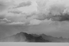 Utah Haboob (Rigsby'sUniquePhotography) Tags: travel mountain storm mountains west canon landscape photography utah photographer explore saltlakecity monsoon thunderstorm lightning saltflats thunder bonneville photojournalist haboob canon70d aaronrigsby