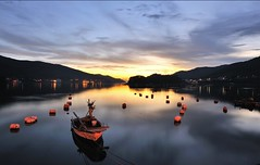 55666 ( 1040497936) Tags: urban lake water beautiful night analog canon asia korea urbex