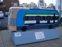Do The Locomotive (Kake .) Tags: sculpture bus london croydon cr0 yearofthebus