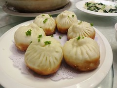Fried Dumplings! @HuXiao Restaurant, Wuyi Road, Shanghai (Phreddie) Tags: china party food dinner restaurant yum shanghai chinese delicious huxiao 141219