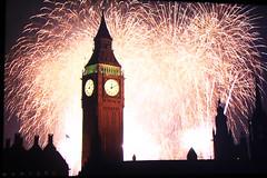 Fireworks on tv ;-) (madeleine fitzsimons selen) Tags: london colours fireworks southbank celebration newyearseve 2014 2015