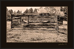 The Ghost Town of Ludlow CO (the Gallopping Geezer 3.3 million + views....) Tags: bw white black abandoned sepia canon rockies blackwhite colorado decay roadtrip mining ludlow faded vacant worn co ghosttown weathered rockymountains toned derelict decayed geezer 2007 corel west07101