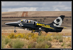 L-39 Albatros ES-TLC (PABLO MOTOS) (Fco Javier Garcia Ruiz) Tags: madrid espaa del garcia 75 javier aire base ruiz ejercito fco aerea torrejon spotter planespotter aerospotter