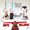 Lightsabers Parody with Unicorns. (wingtorn) Tags: light animal star starwars comic force lego bull saber planet parody anakin lightsaber wars clone swords unicorn sith obiwan wingtorn uploaded:by=flickrmobile flickriosapp:filter=nofilter bullarius