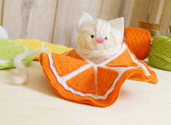 E minha sainha? (BoniFrati) Tags: cute diy craft felt feltro coaster tutorial pap molde bonifrati portacopos