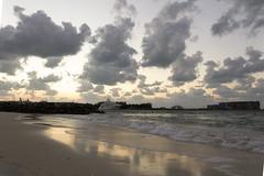 IMG_7683 (Ali Sabbagh) Tags: winter sea sky beach clouds canon landscape rocks dubai waves uae sands landscpe eos7d