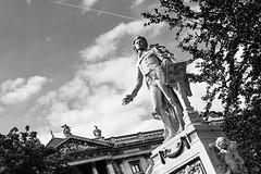 Mozart Memorial in Burggarten, Vienna (basair) Tags: vienna wien statue austria europe mozart hofburg burggarten