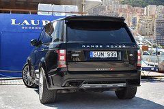 Mansory Limited. (Marco Leeuwestein) Tags: black rover monaco land carbon limited edition range v8 autobiography mansory