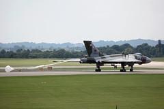 The Vulcan (youngjonathan74) Tags: airshow brake vulcan bomber chute raf nato parachute yeovilton xh558