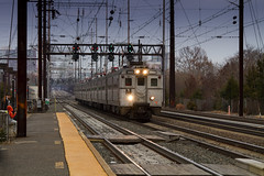 Amtrak Holiday Train No. 1057 at Jersey Avenue (Camera-junkie) Tags: railroad canon traintracks tracks rail trains amtrak transportation locomotive locomotives nec njtransit northeastcorridor railroadphotography jerseyavenue trainsphotography trainphotography canoneos7d