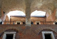 Trajan's Market lights