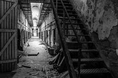 Eastern State Penitentiary (4) (tyrell.t) Tags: old blackandwhite abandoned philadelphia decay prison jail esp easternstatepenitentiary statepenitentiary
