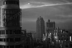 Veneno en el aire de la gran ciudad (Sheila Granado Gonzlez) Tags: madrid city espaa white black ciudad