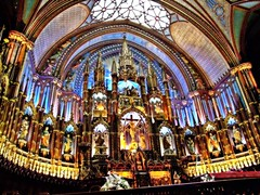 Notre-Dame Basilica – Montreal - Quebec - Canada - By Amgad Ellia 02 (Amgad Ellia) Tags: canada by quebec montreal basilica notredame amgad ellia –