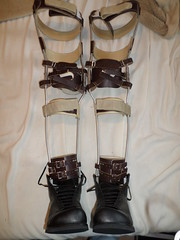 Brown Scott Craig KAFOs Waiting to be Placed on Her Legs (KAFOmaker) Tags: feet fetish boot foot legs braces boots leg strap cuff bound buckle brace straps cuffs appliance buckles appliances bracing restraint orthopedics kafo orthopedic cuffed strapped buckling braced strapping buckled bondagee restyrain