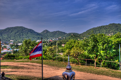 View from Wat Khao Noi