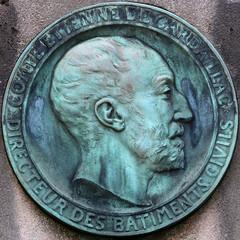 medallion (Leo Reynolds) Tags: cemetery head verdigris medallion squaredcircle xleol30x sqset114 xxx2014xxx