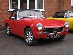 1971 MG Midget (davocano) Tags: brooklands dtn830k