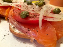 Lox'n'schmear for the new year.