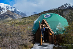 7-Day W Trek - Standard dome (Cascada Expediciones) Tags: chile travel patagonia latinamerica southamerica nature relax photo tourist traveller adventure enjoy experience dome torresdelpaine accommodation ecodome traveler ecocamp cascadaexpediciones standardome