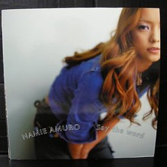 2001.08.08_Say-the-word-vinyl_promotional-picture (Namie Amuro Live ) Tags: namie amuro cover singlecover  saytheword