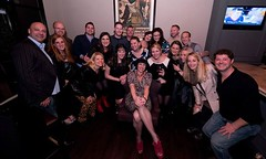 after-party crew at Vine and Tap (T. Ryan Mooney) Tags: angel williams corica