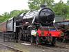 No 45428 Eric Treacy 9th July 2012 NYMR Grosmont (Ian Sharman 1963) Tags: black train eric 5 five no yorkshire north engine july railway loco class steam depot moors locomotive 9th 2012 460 grosmont nymr treacy 5mt 45428