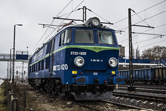 ET22-1020 (Sebastian Gomka) Tags: railroad station electric cargo locomotive trainspotting pkp et22 ostroka et221020