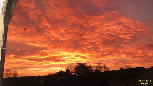 Sunrise over Windsor