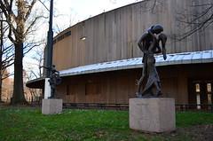 Delacorte Theatre (chasing parades) Tags: nyc newyorkcity lake angel theatre centralpark manhattan statues shakespeare belvederecastle bethesdafountain bowbridge bethesdaterrace urbanpark centralparkconservancy sanremobuilding delacortetheatre