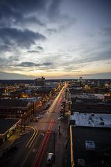 Downtown Columbia Missouri (Notley) Tags: longexposure winter sunset architecture nig