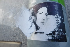 Diva (erix!) Tags: portrait face paper person sticker gesicht papier diva ritratto aufkleber