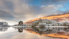 Loch Awe reflection (Damon Finlay) Tags: winter mountains sunrise canon dawn scotland highlands argyll scottish glencoe wilderness efs 1022mm lochawe scottishhighlands efs1022mm beinn kilchurn kilchurncastle highlandsandislands 60d canon60d abhuiridh