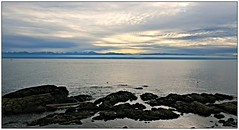 Beach View (CanMan90) Tags: ocean canada clouds canon rocks britishcolumbia victoria vancouverisland washingtonstate olympicmountains dallasrd cloverpoint juandefucastraits cans2s rebelt3i