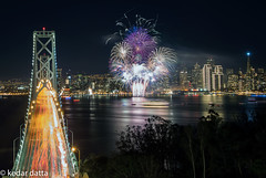 DSC_2706_1-2 (wandering indian) Tags: sf sanfrancisco skyline photoshop fireworks newyear baybridge 2015