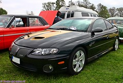 Pontiac GTO 6.0 2005 (Trucks and nature) Tags: 6 black car gold gm power muscle 05 fast rubber burn pontiac gto aussie thunder v8 holden monaro litre hrt ls2