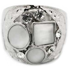 5th Avenue White Ring P4146A-4 (2)